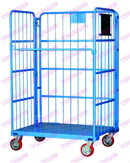 Folding Roll Container with Door