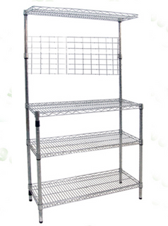 Heavy duty NSF chrome kitchen wire rack
